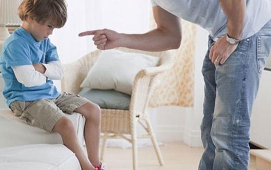 عقاب الاطفال